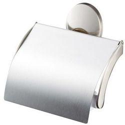 Uchwyt wc z klapką satyna nikiel złoto PASSION 03573