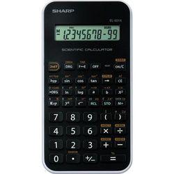 Kalkulator SHARP EL501XWH Czarny