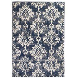 Nowoczesny dywan, wzór paisley, 80 x 150 cm, beżowo-niebieski marki Vidaxl