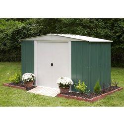 Metalowy domek ogrodowy dresden 3,1 x 1,8 m marki Arrow