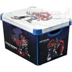 Pojemnik pudełko na zabawki TRANSFORMES z kategorii Pojemniki na zabawki