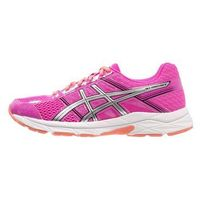 ASICS GELCONTEND 4 Obuwie do biegania treningowe pink glow/silver/black, kolor różowy