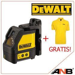 Dw088k laser krzyżowy w kuferku transportowym + koszulka gratis!!! wyprodukowany przez Dewalt