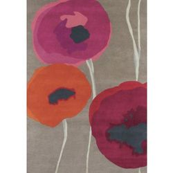 Dywan Poppies, Dywan w Kwiaty - POPPIES RED ORANGE 45700