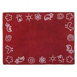 Lorena canals Dywan do prania w pralce granja rojo/red, kategoria: dywany dla dzieci