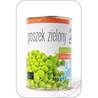Bio europa Groszek zielony konserwowy bio 340g (270g)-