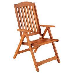 Krzesło ogrodowe drewniane meranti od producenta Home garden