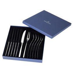 Villeroy & boch - piemont komplet noży i widelców do steków 12 el.