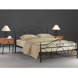 Łóżko SIGNAL DENVER czarny, S-DENVER-czarny