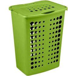 kosz na pranie victor 40l - zielony wyprodukowany przez Curver