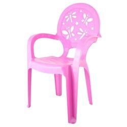 Pucuś Krzesełko dziecięce fioletowe