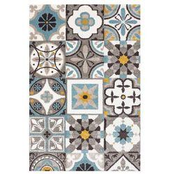 Dywan Colours Puppis 66 x 110 cm płytka niebieski