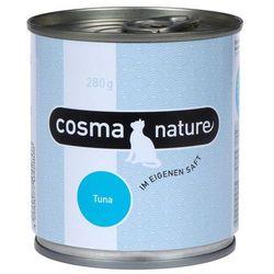 nature, 6 x 280 g - pierś z kurczaka i tuńczyk, marki Cosma