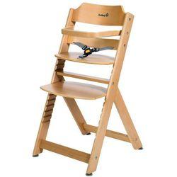 Safety 1st wysokie krzesełko timba basic z naturalnego drewna 27980100 (3220660238712)