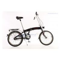 Aluminiowy rower składany SKŁADAK MIFA 3-BIEGI SHIMANO NEXUS czarny, 2152560411