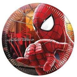 Talerzyki urodzinowe Amazing Spiderman 2 - 23 cm - 8 szt.