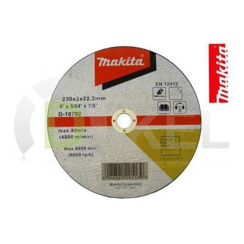 Tarcza tnąca do stali szlachetnej 230x2 mm MAKITA - produkt dostępny w Dikel