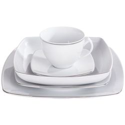 Ćmielów / akcent Chodzież akcent platynowa linia serwis obiadowy i kawowy 60/12 9718