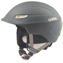 Damski kask narciarski  gamma wl czarny/prosecco m (53-57 cm) od producenta Uvex