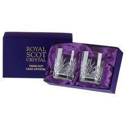 Royal Scot Crystal Szklanki Highland do Whisky 210ml 2szt Pres.B
