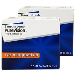 Bausch & lomb Soczewki night & day purevision toric 6 szt