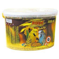 Vitapol Pokarm pełnowartościowy dla papużek falistych 2,4kg