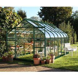 Duża szklarnia ogrodowa Halls Supreme Green 2,55 x 4,46 m - oferta [05e24a7e77c59697]