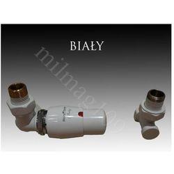 Zestaw zaworów grzejnikowych termostatycznych MASTER lewy BIAŁY - oferta (056e477c67a5d377)