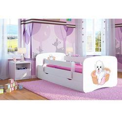 Łóżko dziecięce babydreams piesek kolory, promocja spokojny sen marki Kocot-meble