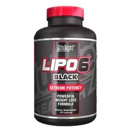 lipo 6 black - 120 kaps, marki Nutrex