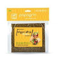 Papagrin (przekąski raw) Tortilla wraps warzywna złota bezglutenowa bio 125 g - papagrin