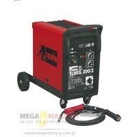 TELWIN Półautomat mig/mag jednofazowy Telmig 200/2 + akcesoria z kategorii migomaty i półautomaty spawalni