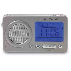 Travel Sound Therapy System S-850. Generator dźwięków, zegar oraz budzik