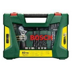 Zestaw osprzętu wierteł V-LINE Bosch 83 SZT