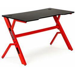 Modernhome Biurko gamingowe, nowoczesne, dla gracza, 120, czarne, czerwone (5903089069300)