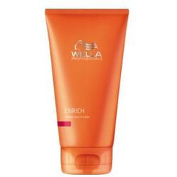 Wella ENRICH STRAIGHT LEAVE IN CREAM Krem prostujący do włosów grubych, produkt marki Wella Profesionals