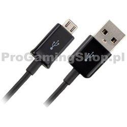 Kabel do transmisji danych Samsung EBC-DU4AE dla telefonów z gniazda USB Micro Czarnej z kategorii Pozostałe