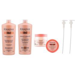 fluidealiste zestaw dyscyplinujący włosy | szampon 1000ml + odżywka 1000ml + maska 500ml + pompka w prezencie x2! marki Kerastase