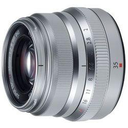Fujifilm Obiektyw  fujinon xf 35 mm f/2 r wr srebrny