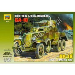 Radziecki samochód opancerzony BA-10 Zvezda 3617