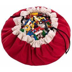 Worek na zabawki  - czerwony, marki Play&go