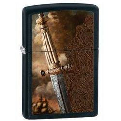 Zippo  zapalniczka 28305 ancient sword black matte