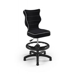 Entelo Krzesło dziecięce na wzrost 133-159cm petit black js01 rozmiar 4 wk+p