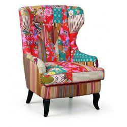 Fotel patchwork typu uszak marki B2b partner