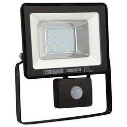 Elewacyjna LAMPA ścienna PUMA/S LED 20W 02958 Ideus reflektorowa OPRAWA zewnętrzna z czujnikiem ruchu outdoo