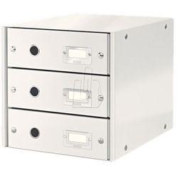 Pojemnik Leitz Click&Store z 3 szufladami biały 60480001