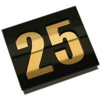Numer, Numery Cyferki na Drzwi z pleksi podwójne, 2964212554