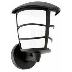 Klasyczna lampa elewacyjna aloria 93515 zewnętrzna oprawa ścienna kinkiet do ogrodu led 7w outdoor ip44 czarny marki Eglo