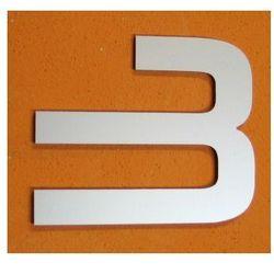 CYFRA 3 NUMER NA DOM, DRZWI wys. 15 cm Alucobond M - sprawdź w wybranym sklepie