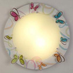 d-62146 - lampa sufitowa dziecięca butterfly 2xe27/40w/230v marki Dalber